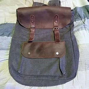 Genuine Leather Jack & Chris Backpack Bag
